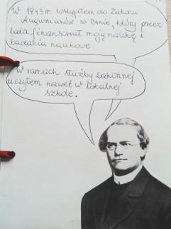 Biologia - ucz się sam! Czy wiesz kim był Mendel? Czas żeby dokładniej przyjrzeć się życiorysowi tego naukowca przez… narysowanie komiksu!
